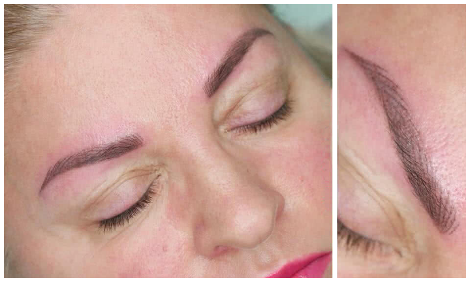 klaudia grobelska permanent makeup braunschweig 2 - Long Time Liner Permanent Make-up der Augenbrauen