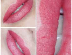 klaudia grobelska permanent makeup braunschweig Lippen 1 232x178 - Long Time Liner Permanent Make-Up der Lippen mit Vollschattierung