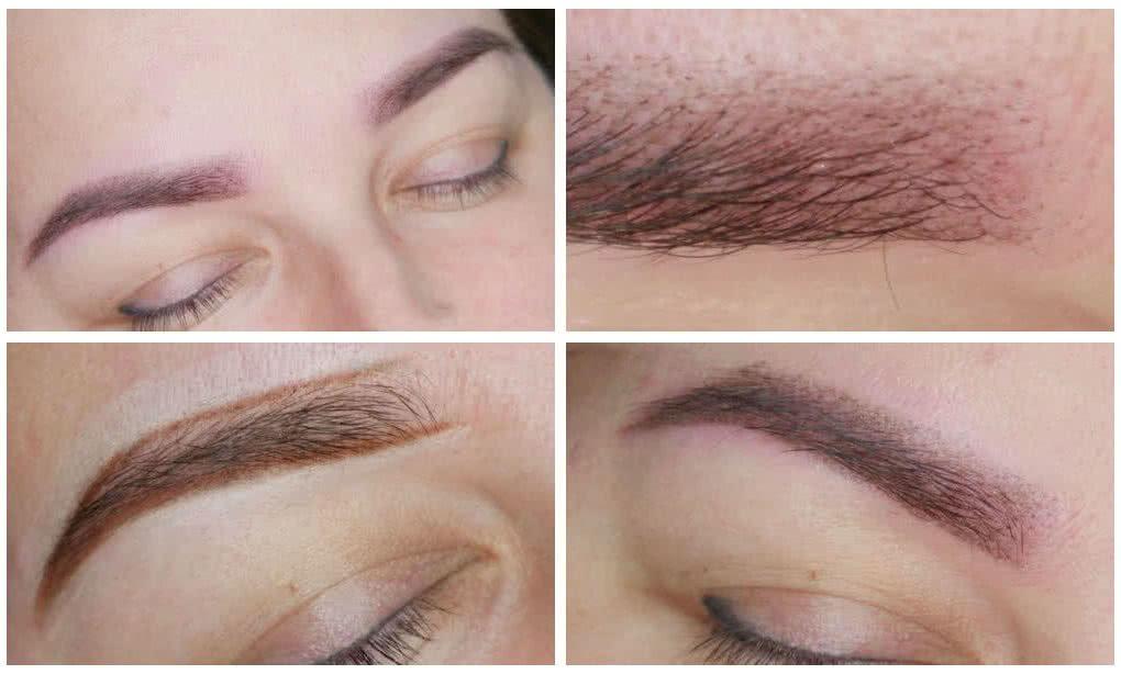 klaudia grobelska permanent makeup braunschweig augenbrauen 1 1020x614 - Long Time Liner Permanent Make-Up der Augenbrauen mit Vorzeichnung